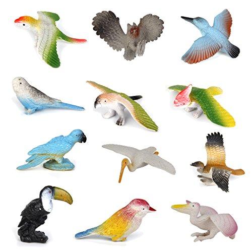 12pcs-plastic-birds-model-toy-multi-color