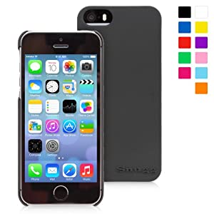 Snugg iPhone 5 / 5S Case - Ultra Thin Case with Lifetime Guarantee (Black) for Apple iPhone 5 / 5S
