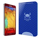 Skinomi Tech Glass - Samsung Galaxy Note 3 Glass Screen Protector / Ultra Thin (.33mm Thickness) Premium Tempered Glass - Clear 9H Hardness w/ Oleophobic Coating - 99% Clarity & Touchscreen Accuracy
