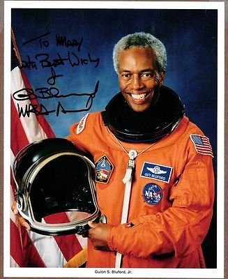 Guion S. Bluford, Jr., NASA Astronaut, Signed Photo, COA at Amazon's