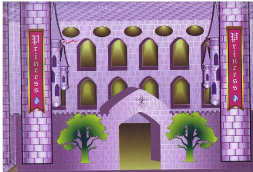 Princess Storage Box - Purple 903886 - Fantasy Castle - 1