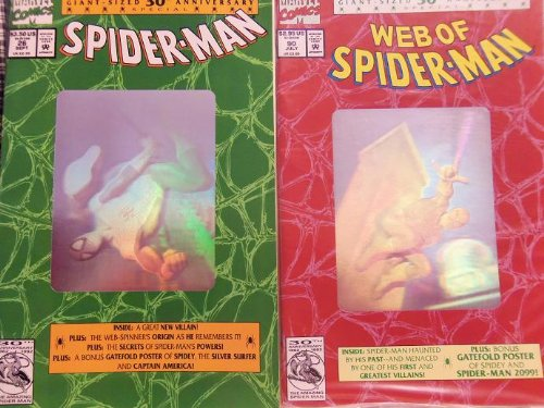 Four Editions #26 Spiderman #90 Web Of Spiderman #189 Spectacular #365 Amazing (1) (Amazing Spiderman 189 compare prices)