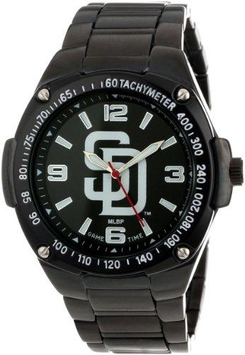 game-time-unisex-mlb-war-sd-warrior-san-diego-padres-analogique-3-hand-orologio