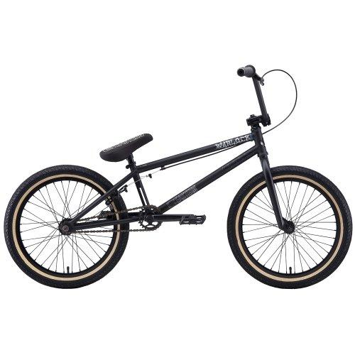 Eastern Bikes Warlock 2013 Edition BMX Bike (Matte Black/Black Rim, 20-Inch)