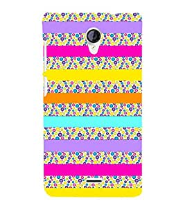 Ballons Art Girly 3D Hard Polycarbonate Designer Back Case Cover for Micromax Canvas Unite 2 A106