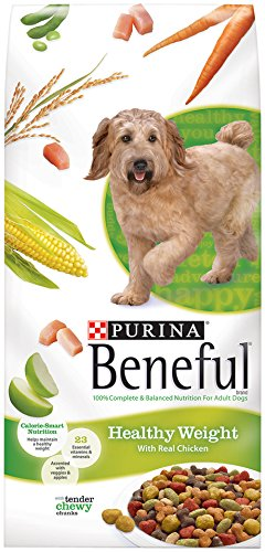 Beneful Dry Dog Food, Healthy Weight, 15.5-Pound Bag, Pack Of 1