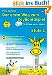 Der erste Weg zum Keyboardspiel (Stuf...