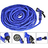 Krevia Deluxe 50ft Longest And Strongest Flexible Expandable Magic Garden Hose And 7-pattern Spray Nozzle And... - B01N6D1T7P