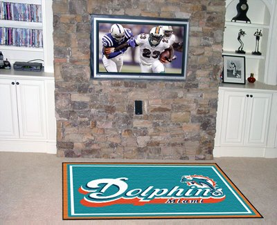 Dolphins 4' x 6' Area Rugs
