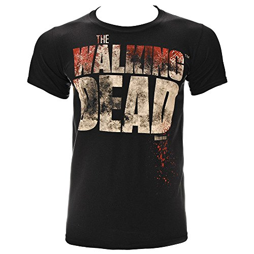 T Shirt The Walking Dead Splatter (Nero) - Medium