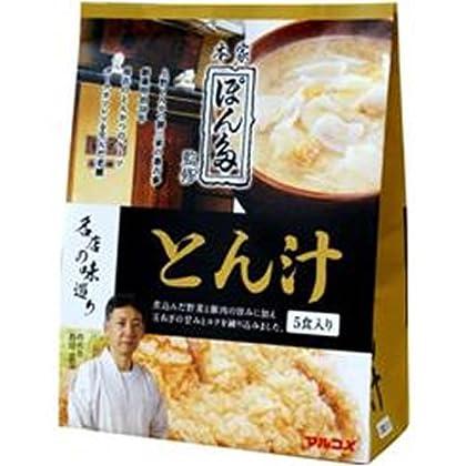 マルコメ 名店の味巡り ぽん多とん汁 5食×7袋