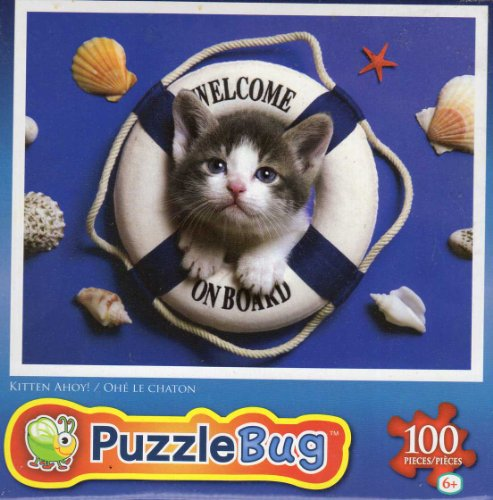 Kitten Ahoy - Puzzlebug - 100 Ps Jigsaw Puzzle - NEW - 1