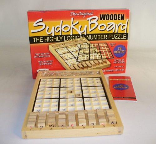 Cheap SMART MINDS ORIGINAL WOODEN SUDOKU BOARD (B000N58HB6)