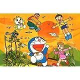 Shopolica Doraemon Cartoon Poster (Doraemon-Poster-698)
