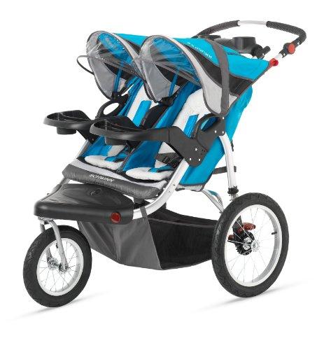 Schwinn Discover Double Swivel Stroller - 1