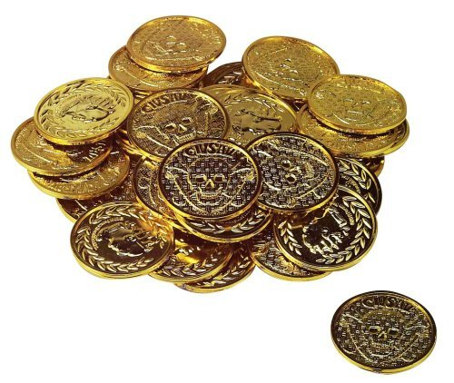 Pirate Gold Treasure Coins