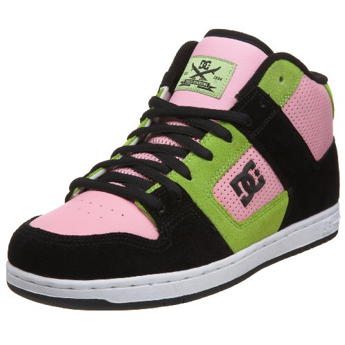 DC Men's Manteca 3 M S Sneaker,Black/Pink/S.Lime,5 M