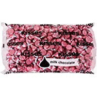 Kisses 66.7 Ounce Milk Chocolate (Pink Foils)
