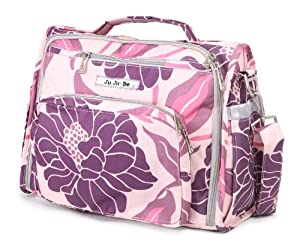 Ju-Ju-Be B.F.F. Messenger Diaper Bag (Bashful Begonias)