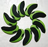 A99 H09 golf club headcover neoprene iron head cover 10pcs Black/Green