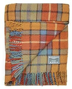 Classic Wool Blanket in Antique Buchanan Tartan