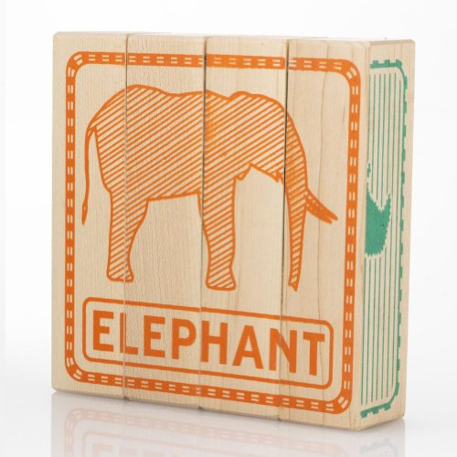 Tree Hopper Toys - Zoo Puzzled Blocks - 1