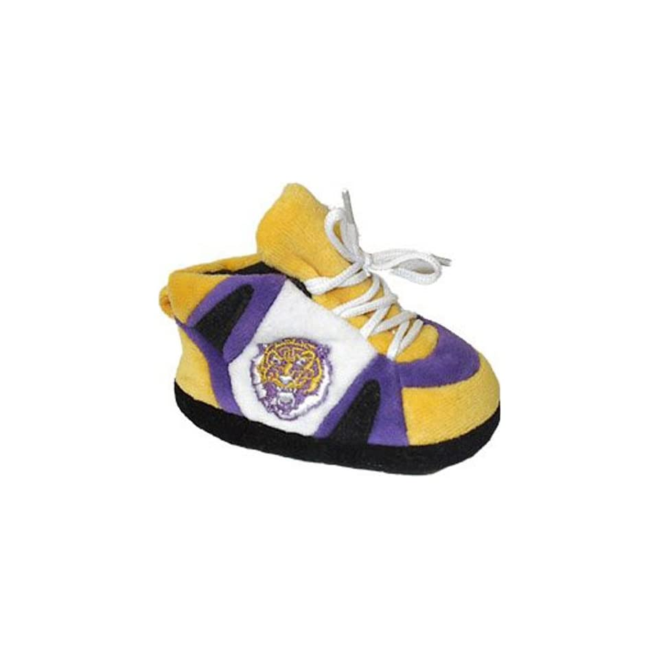 State Fightin Tigers Comfy Feet NCAA Baby Slippers