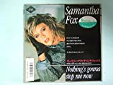 Samantha Fox (サマンサ・フォックス) ?Nothing's Gonna Stop Me Now (ストップ・ミー・ナウ)? (7inch Analog, EP盤)