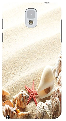 Phones Accessories Beautiful Beach Sunshine Cute Conch Cell Phone Case Samsung Galaxy Note 3 # 10 front-245579