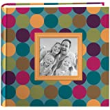 Pioneer Designer Raised Frame Cover Photo Album, Dots