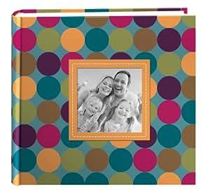 Pioneer Designer Raised Frame Cover Photo Album, Dots