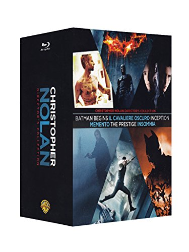 Christopher Nolan director's collection [Blu-ray] [IT Import]