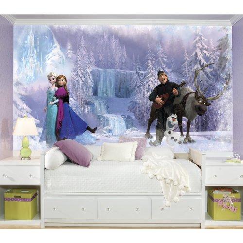 RoomMates Disney Frozen Chair Rail Prepasted Mural