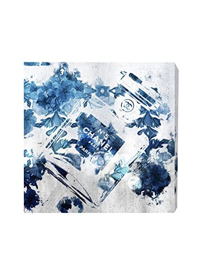 Oliver Gal Blue Flower Scent Canvas Art