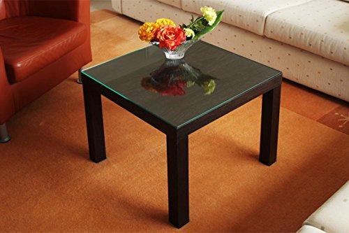 Tischplatte aus sicherheitsglas f r ikea lack tisch klein for Ikea tisch lack
