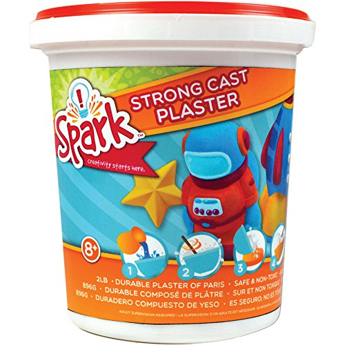 Colorbok Strong Cast Plaster 2lbs (Plaster Mix compare prices)
