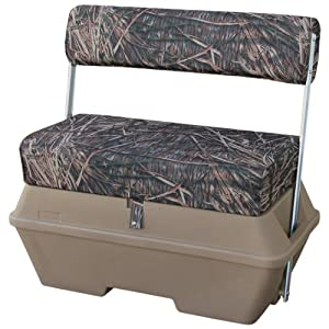 Wise Swing Back Seat with 70-Quart Cooler, Advantage Max 4 Camo by Wise