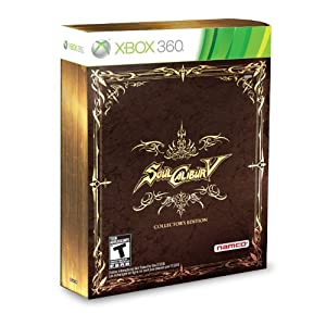 Soul Calibur 5 Video Game for Xbox 360