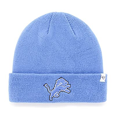 Men's '47 Brand Detroit Lions Cuffed Knit Hat One Size Fits All