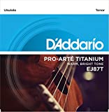 D'Addario ダダリオ ウクレレ弦 EJ87T Titanium Tenor テナー 【国内正規品】 ランキングお取り寄せ