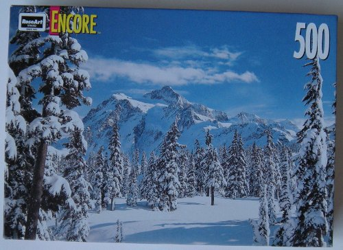 Encore Jigsaw Puzzle ~ Mount Shuksan ~ 500 Pieces by Rose Art