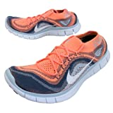 Nike Free Flyknit Run 5.0 For Womens (Grey, 10)