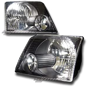 ford explorer headlights black headlights 2002. Black Bedroom Furniture Sets. Home Design Ideas