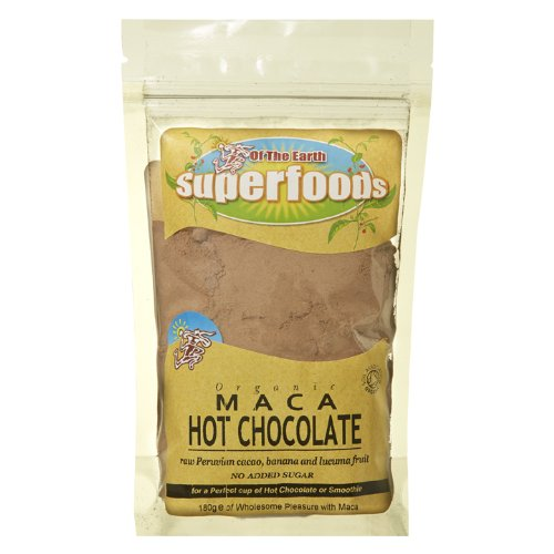 Of The Earth Superfoods Naturally Hot Chocolate with Maca 180 g
