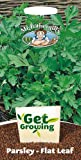 Mr. Fothergill's 21330 1000 Count Get Growing Plain Leaved 2 Parsley Flat Seed