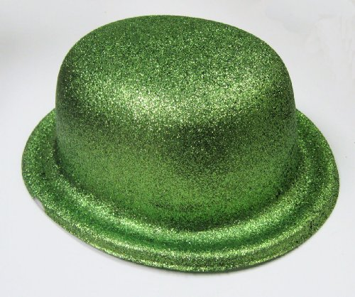 St. Patrick's Day - Green Glitter Derby