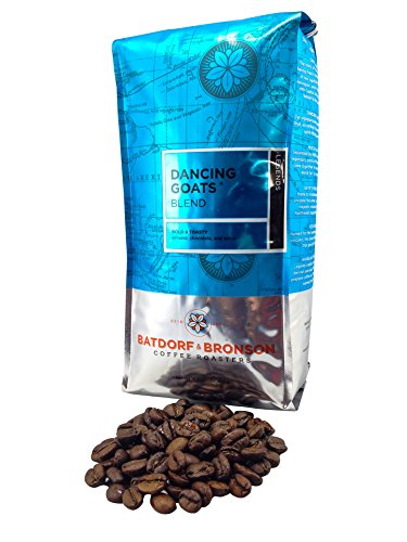 Batdorf & Bronson Coffee Roasters - Dancing Goats Blend - Roasted Whole Bean Coffee (16Oz)