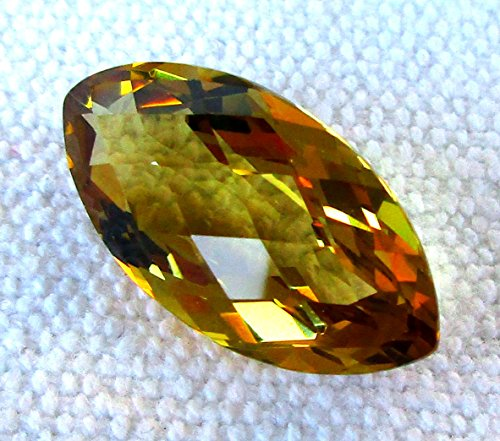 Marquise Natural Citrine