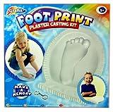 Grafix My Foot Print Plaster Casting Set