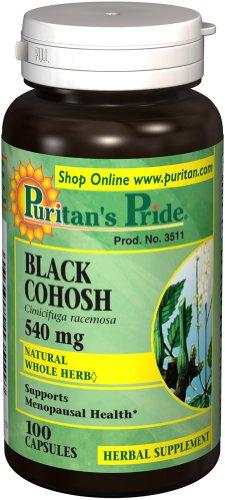 Black Cohosh 540Mg 100 Capsules